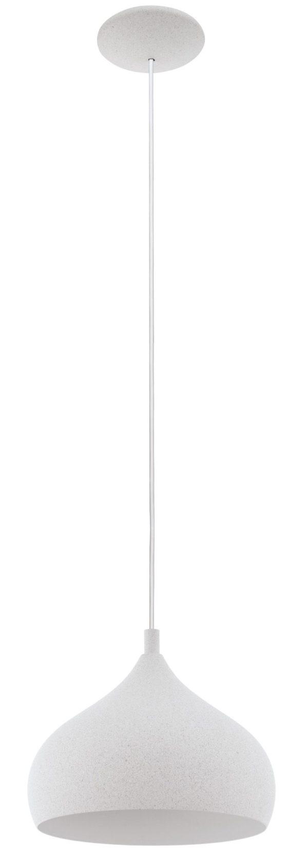 Campillos hanglamp - steenoptiek lichtgrijs Eglo Hanglamp 97798-EGLO