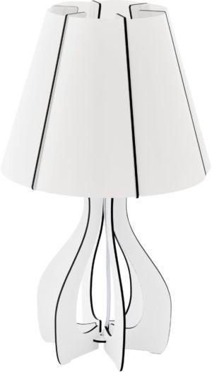 Cossano tafellamp - wit Eglo Tafellamp 94947-EGLO