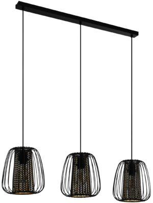 Curasao hanglamp - zwart Eglo Hanglamp 99662-EGLO