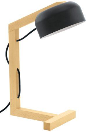 Gizzera tafellamp - zwart - natuur Eglo Tafellamp 32078-EGLO