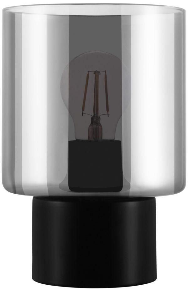 Gorosiba tafellamp - zwart Eglo Tafellamp 33984-EGLO