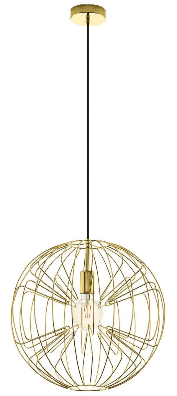 Hanglamp okinzuri e27 d450 mat goud - geelkoper Eglo Hanglamp 98689-EGLO