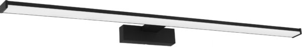 Led wandlamp pandella1 l780 ip44 1700lm zwart/wit - zwart Eglo Wandlamp 98677-EGLO