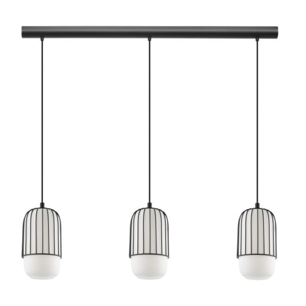 Muleges hanglamp - zwart Eglo Hanglamp 99619-EGLO