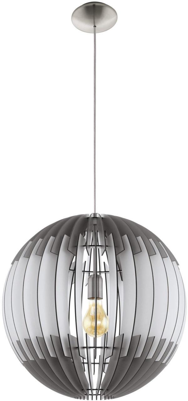 Olmero hanglamp - nikkel-mat Eglo Hanglamp 96974-EGLO