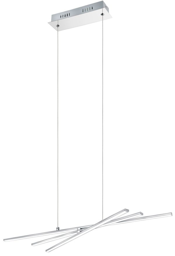 Parri hanglamp - chroom Eglo Hanglamp 96318-EGLO