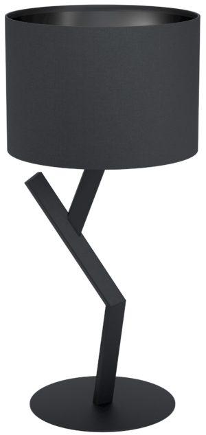 Tafellamp balnario e27 h630 zwart - zwart Eglo Tafellamp 39888-EGLO