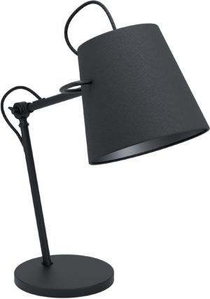 Tafellamp granadillos e27 zwart - zwart Eglo Tafellamp 39866-EGLO