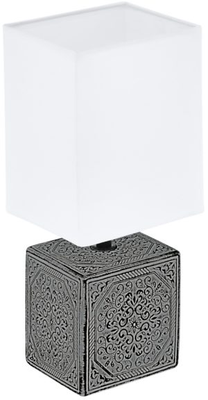 Tafellamp mataro1 e14 keramiek zwart/wit - zwart Eglo Tafellamp 99333-EGLO