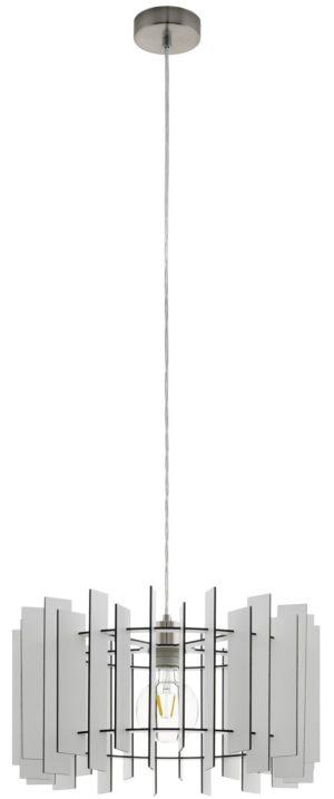 Treglio hanglamp - nikkel-mat Eglo Hanglamp 97517-EGLO