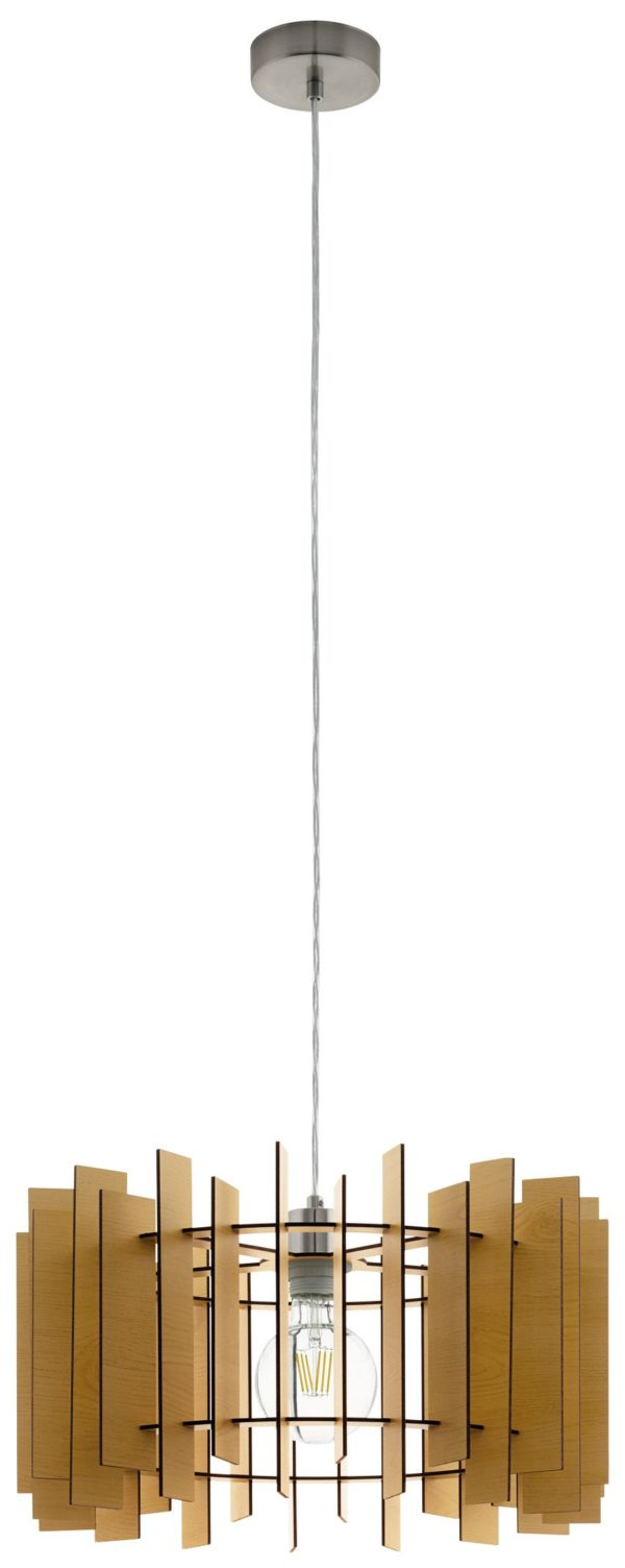 Treglio hanglamp - nikkel-mat Eglo Hanglamp 97518-EGLO