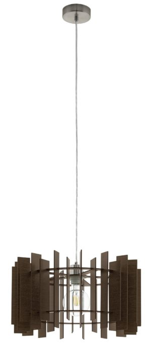 Treglio hanglamp - nikkel-mat Eglo Hanglamp 97519-EGLO