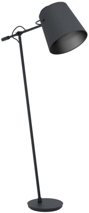 Vloerlamp granadillos e27 zwart - zwart Eglo Vloerlamp 39867-EGLO