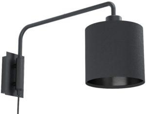 Wandlamp staiti1 e27 zwart/zwart - zwart Eglo Wandlamp 99348-EGLO