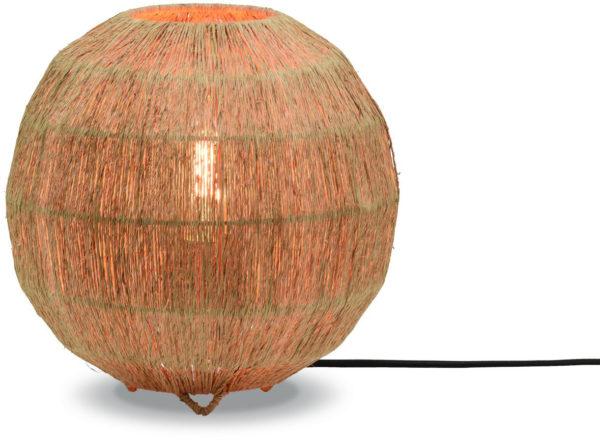 Tafellamp Iguazu jute/bol 25xh.25cm naturel, S Good & Mojo Tafellamp IGUAZU/T25/N