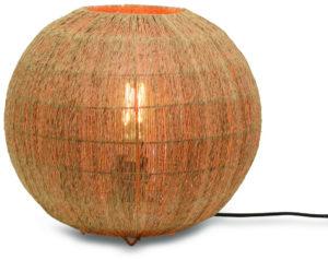 Tafellamp Iguazu jute/bol 32xh.36cm naturel, L Good & Mojo Tafellamp IGUAZU/T36/N