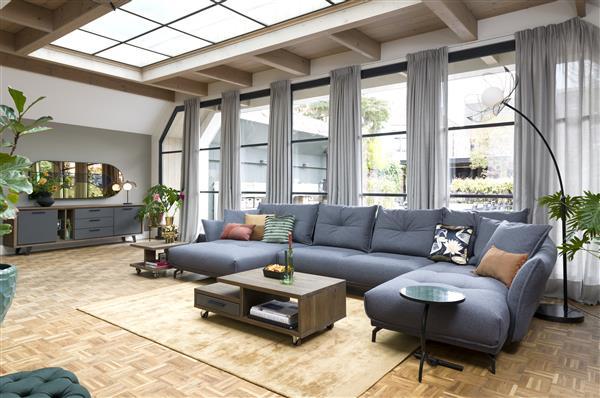 Henders & Hazel Cubo salontafel 120 x 60 cm. - 1-lade + 1-niche  Bijzettafel