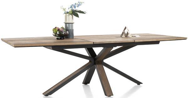 Henders & Hazel Cubo uitschuiftafel 190 x 110 cm. (+ 60 cm.)  Eettafel