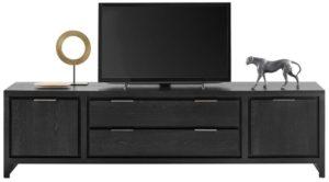IN.House TV-Meubel Lentaro eikenhout zwart  Dressoir
