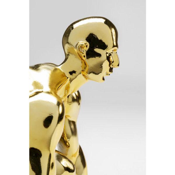 Beeld Figurine Runner Gold 25cm Kare Design Beeld 53460