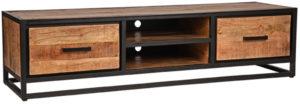 LABEL51 Tv-meubel Tampa - Rough - Mangohout Rough Tv-meubel|Tv-dressoir