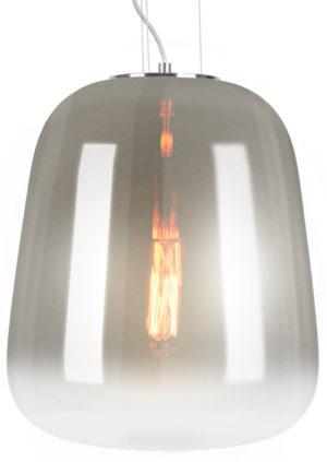 Pendant lamp Cone - Smokey grey Leitmotiv Woonaccessoire LM1962GY