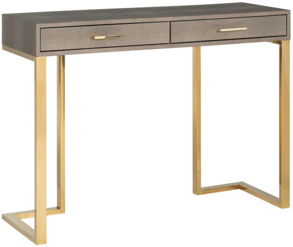Richmond Interiors Wandtafel Calesta 2-laden (Gold) Gold Wandtafel