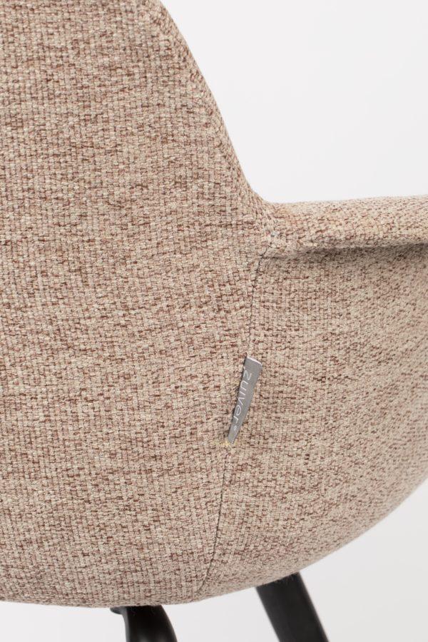 Armchair Albert Kuip Soft Beige Zuiver Armstoel ZVR1200210