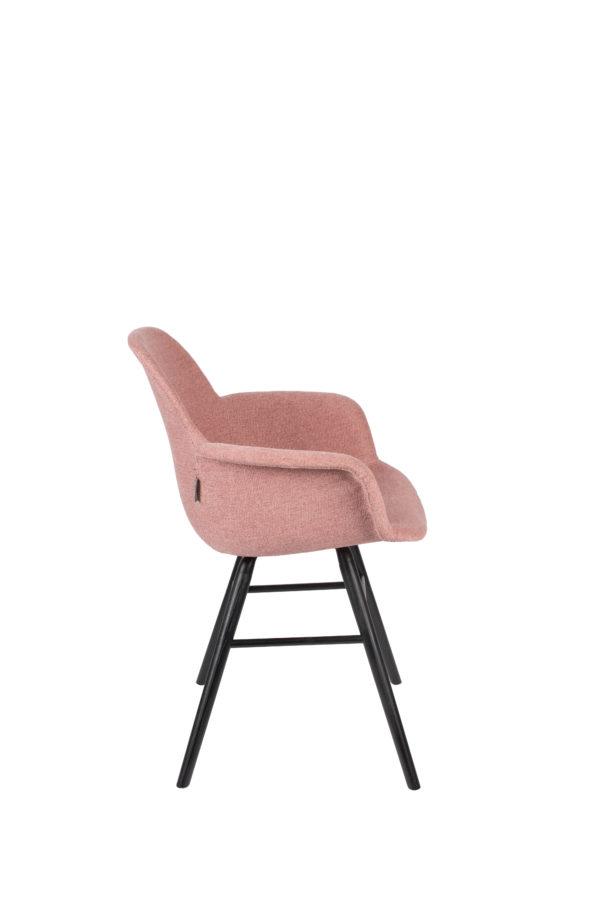 Armchair Albert Kuip Soft Pink Zuiver Armstoel ZVR1200209