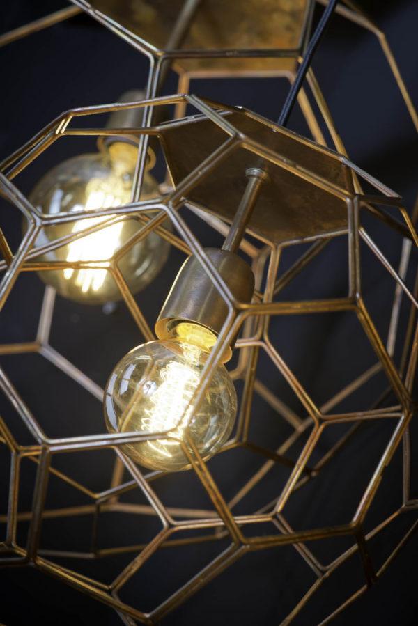 Hanglamp draadijzer Marrakesh dia.34xh.32cm koper, S it's about RoMi Hanglamp MARRAKESH/H35/BCO
