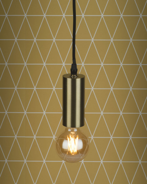 Hanglamp ijzer Cannes h.11x5cm goud, S it's about RoMi Hanglamp CANNES/H10/GO