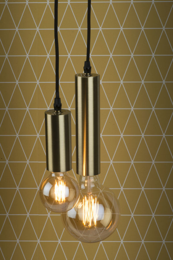 Hanglamp ijzer Cannes h.20x5cm goud, L it's about RoMi Hanglamp CANNES/H20/GO