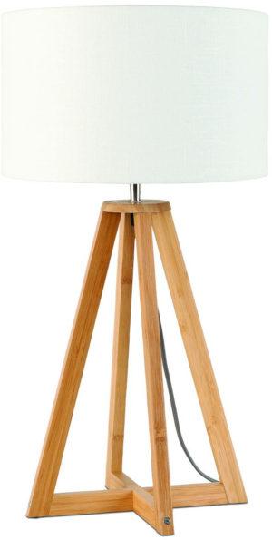 Onderstel tafelamp bamboe/4-poot Everest dia.28xh.34cm, naturel it's about RoMi Tafellamp EVEREST/T