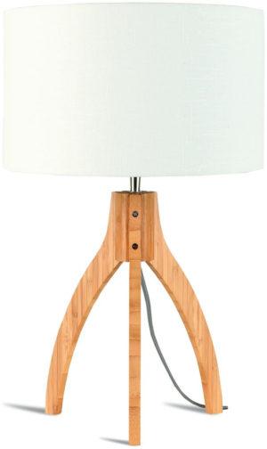 Onderstel tafellamp bamboe/3-poot Annapurna dia.27xh.30cm, naturel it's about RoMi Tafellamp ANNAPURNA/T