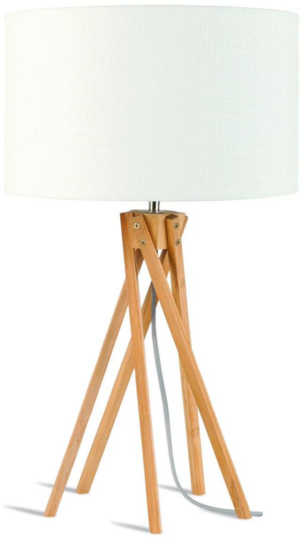 Onderstel tafellamp bamboe/5-poot Kilimanjaro dia.26xh.34cm, naturel it's about RoMi Tafellamp KILIMANJARO/T