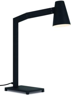 Tafellamp ijzer Biarritz h.60xb.43cm/kap dia.12xh.16cm, zwart it's about RoMi Tafellamp BIARRITZ/T/B