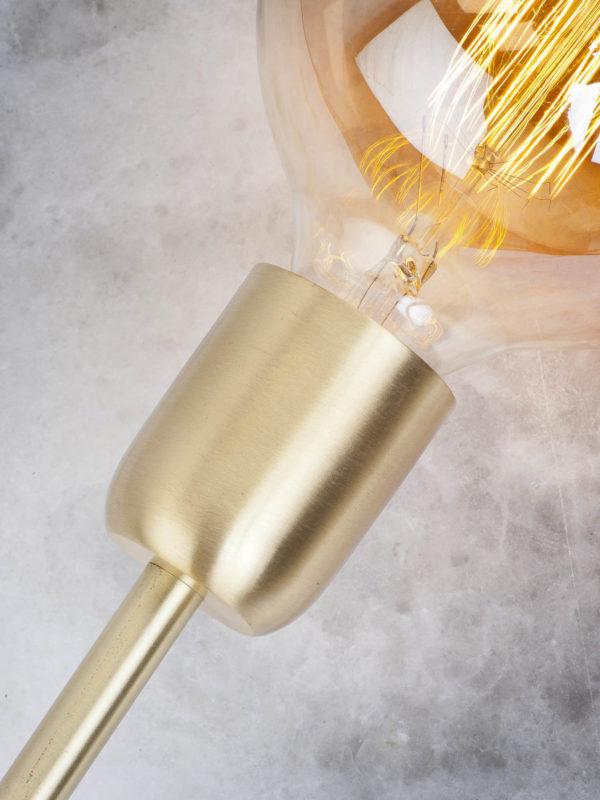 Tafellamp ijzer Cannes dia.12xh.37cm goud, L it's about RoMi Tafellamp CANNES/T37/GO