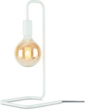 Tafellamp ijzer London 20x20xh.45,5cm, wit it's about RoMi Tafellamp LONDON/T/W