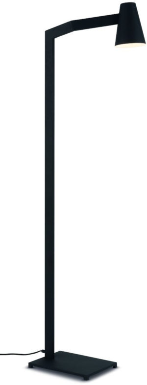 Vloerlamp ijzer Biarritz h.143xb.43cm/kap dia.12xh.16cm, zwart it's about RoMi Vloerlamp BIARRITZ/F/B