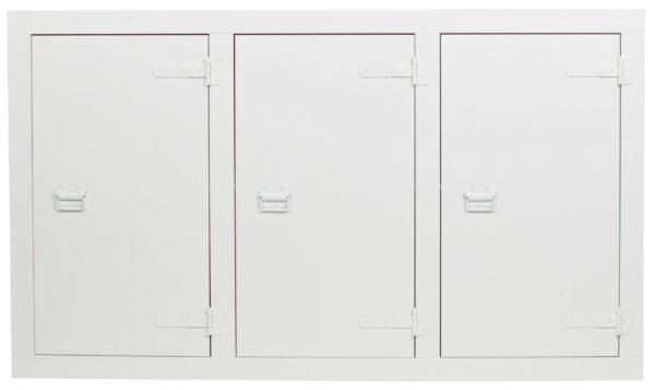 vtwonen Bunk Cabinet Grenen Bandzaag Wit White Kast