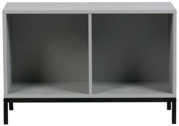 vtwonen Vt Lower Case Two Open Betongrijs Incl Onderstel Concrete grey Kast