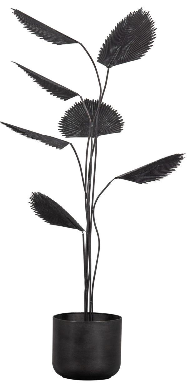 BePureHome Forever Plant Metaal Zwart Black Woonaccessoire