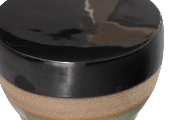 BePureHome Glazed Kruk Ceramic Veggie 43xØ33cm Veggie Eetkamerstoel