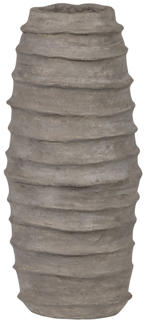 BePureHome Knossos Vaas Paper Mache Clay Clay Woonaccessoire