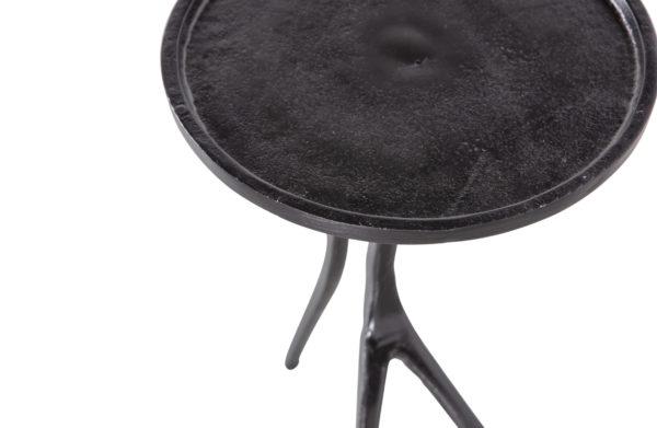 BePureHome Legs Bijzettafel Metaal Zwart Black Eettafel