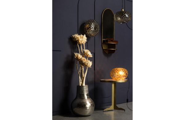 BePureHome Look A Like Spiegel Met Planchet Antique Brass Antique brass Woonaccessoire