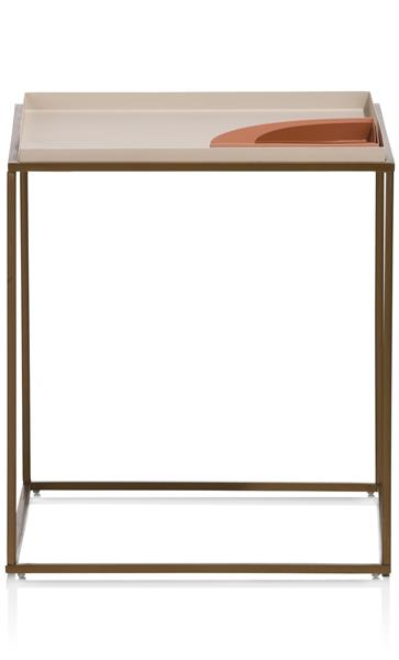 COCO maison Roxie bijzettafel 40 x 40 cm  Woonaccessoire