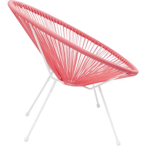 Chair Acapulco Coral Kare Design  83989