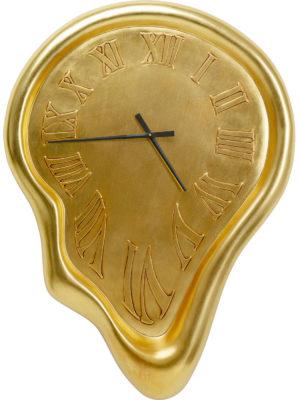Klok Big Drop Gold 92x127cm Kare Design Klok 53519