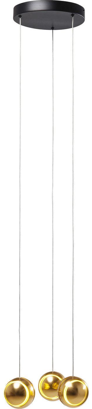 Lamp Spool Spiral Gold LED Kare Design  51395